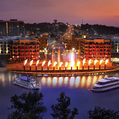 Branson-Landing-Cruises-at-Night-Main_Street_Marina-Branson_Landing