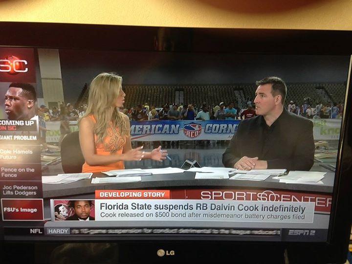 Cornhole Championships Get Spot on ESPN SportsCenter