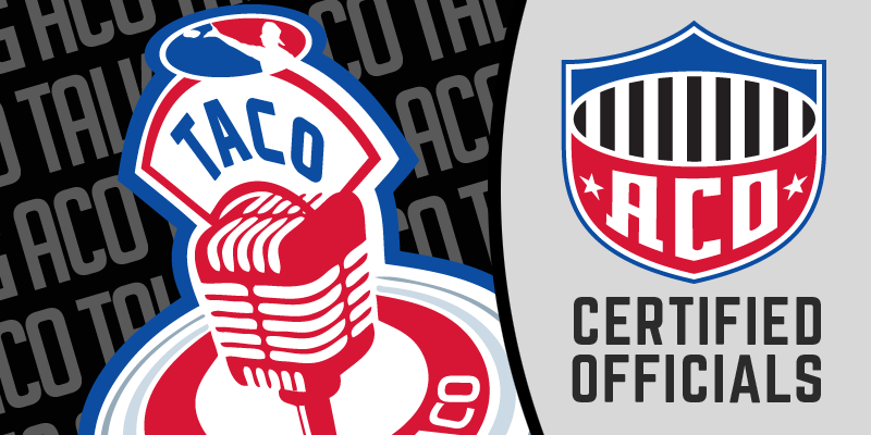 The TACO Episode 82: We Recruit and Salute ACO Certified Officials – Check It Out
